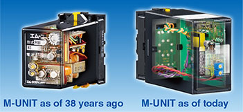 M-UNIT as of 38 years ago / M-UNIT as of today